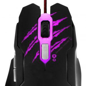 Mouse Óptico Alámbrico XTECH Lethal Haze 6 Botones 3200dpi XTM-610
