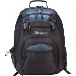 Mochila Para Laptop Marca Targus Color Negro/Azul