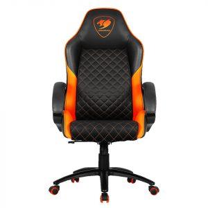 Silla Gaming Cougar Fusion Negro con Naranja