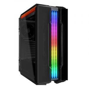 Case Gaming Cougar GEMINI T con Vidrio Templado Sin Fuente color Negro