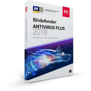 Antivirus BitDefender Plus para 1 Usuario por 1 Año