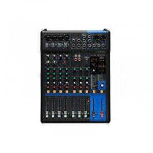 Consola profesional analóga  de10 canales con efectos, fader e interface USB YAMAHA MG10XUF color negro
