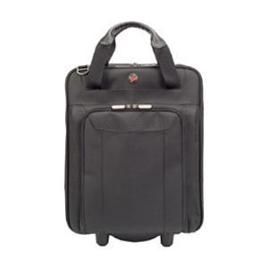 Maletín Corporate Traveller Vertical Rolling Laptop Case Marca Tragus color negro