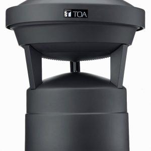 Bocina para exteiore, jardines o parques tematicos TOA GS-302 color negro