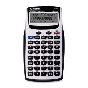 Calculadora Cientifica Canon F710 Color Gris