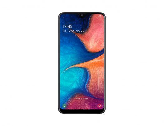 Celular Samsung A20 3GB RAM 32GB 6.4″ Color Negro Dual SIM