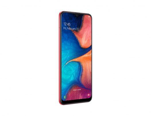 Celular Samsung A20 3GB RAM 32GB 6.4″ Color Rojo Dual SIM