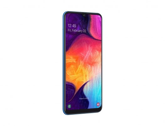 Celular Samsung A50 4GB RAM 64GB 6.4″ Color Azul Dual SIM