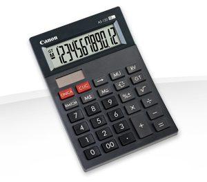 Calculadora Canon AS-120 Color Gris Oscuro