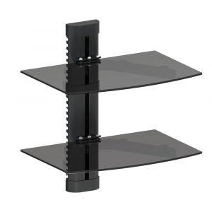 Bracket Argom Tipo Base Dual Stand Vidrio Templado