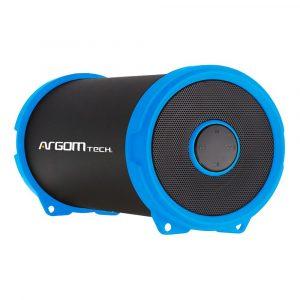 Bocina Bluetooth Argom Bazooka Air Beats 1500mAh Color Azul