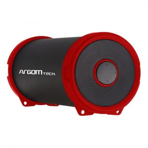 Bocina Bluetooth Argom Bazooka Air Beats 1500mAh Color Rojo