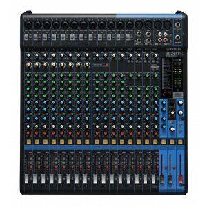 Consola profesionalanaloga de 20 canales con efectos e interface USB YAMAHA MG20XU color negro