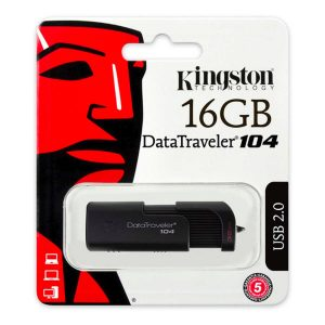 Memoria USB Kingston DT104 16GB USB2.0 Color Negro