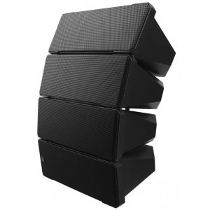 Sistemas de altavoces line array TOA HX-7B color negro