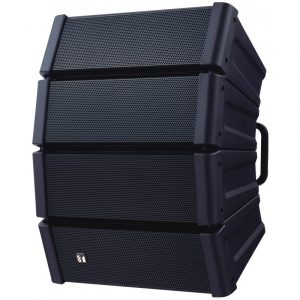 Sistema de altavoz line array TOA HX-5B color negro