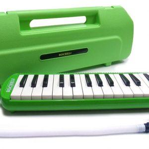 Melódica Bocheli de 32 Notas Color Verde