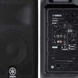 Bocina amplificada YAMAHA DXR10 color negro