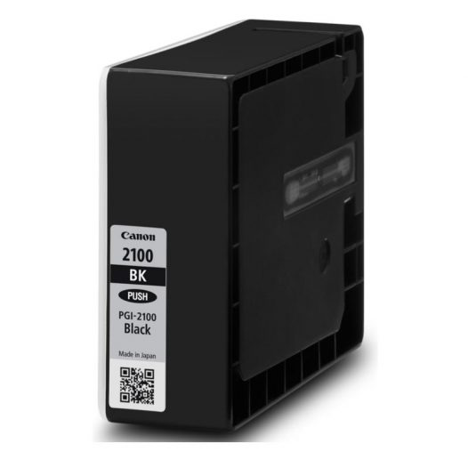 Cartucho de Tinta Canon PGI-2100XL BK LAM Color Negro Para MAXYFI