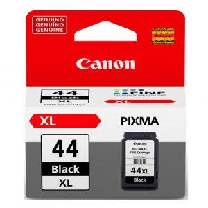 Cartucho de tinta Canon PG-44XL LAM para E481 Colo Negro