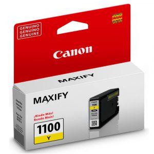 Cartucho de Tinta Canon PGI-1100BK color amarillo para MB2010