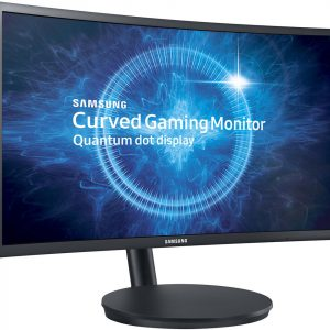 "Monitor LED Curvo Gaming Samsung de 24"" 1920x1080 HD"