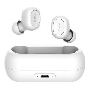 Audifonos Bluetooth T1 marca QCY Color Blanco