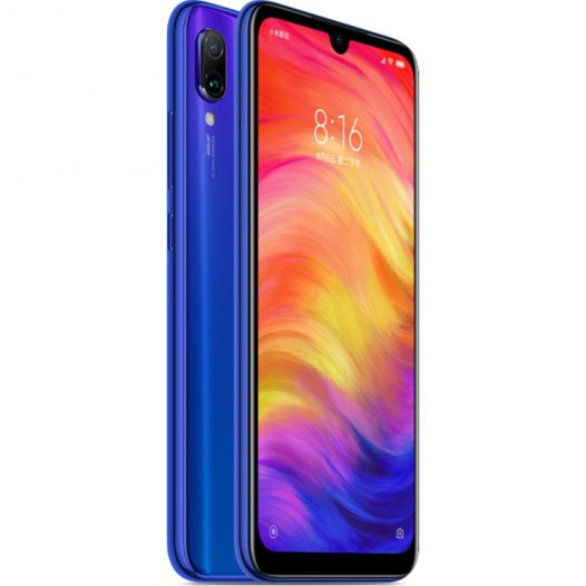 Celular Xiaomi Redmi Note 7 4GB RAM 64GB 48 Megapixeles 6.3″ Color Azul SIM Versión Global