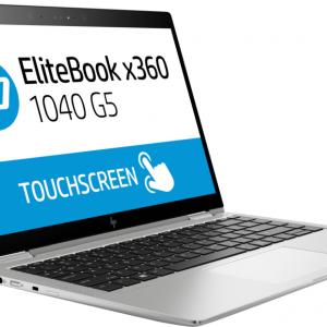 "Laptop HP EliteBook X360 1040 G5 i5-8250U 8GB 256GB 14"" Touch Win10 Pro Color Plateado"