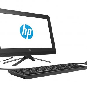 "Computadora de Escritorio HP All-in-One 20-c217la Intel Celeron 4GB RAM 500GB 19.5"" Color Negro"