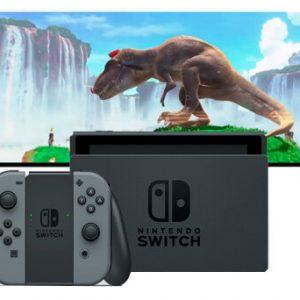 Consola Nintendo Switch Con control Joy Con Gris