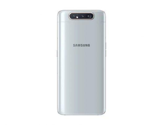 """Celular Samsung A80 8GB RAM 128GB 48Mgplx 6.7"""" Color Plateado DualSIM"""