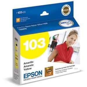 Cartucho para Plotter Epson 103 Yellow Ink Cartridge - STYLUS Office