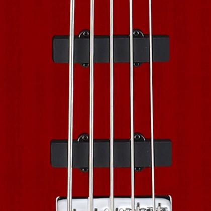 Bajo Eléctrico de 5 Cuerdas Action V Plus marca Cort Color Negro con Funda + Envío Gratis