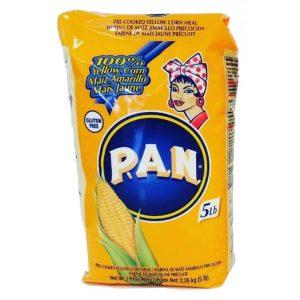 Harina PAN Maíz Amarillo 5 Libras (2.26 KG)