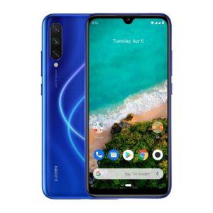 "Celular Xiaomi Mi A3 4GB RAM 64GB 6"" Color Azul Dual SIM"