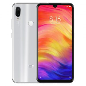 Celular Xiaomi Redmi Note 7 4GB RAM 64GB 48 Megapixeles 6.3″ Color Blanco SIM Versión Global