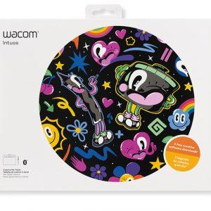 Tableta Digitalizadora Wacom Intuos Small Color Negro con Lápiz Sin Bluetooth