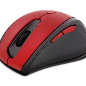 Mouse Inalámbrico Klip Xtreme KMW-356 Color Rojo