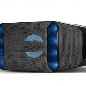 Bocina Bluetooth Klip Xtreme KWS-711 con Luces LED Color Negro