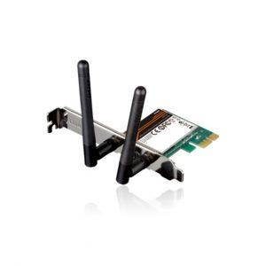 Tarjeta de Wi-Fi N300 PCI express marca D-Link DWA-548