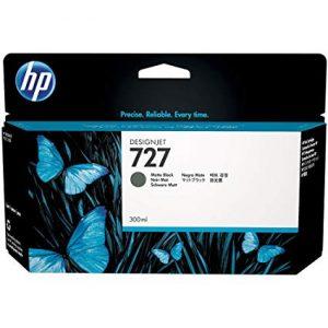 Cartucho HP 727 color Negro Mate 130ml
