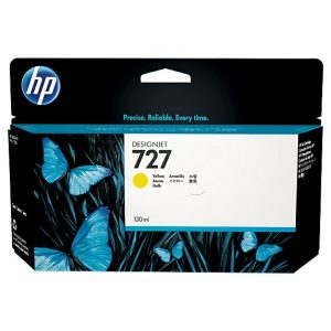 Cartucho HP 727 Amarillo 300ml