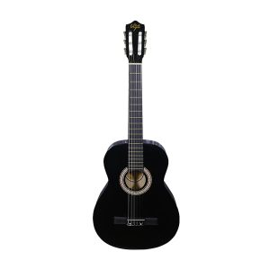 Guitarra Clásica Marca De La Vega con Funda Color Negro