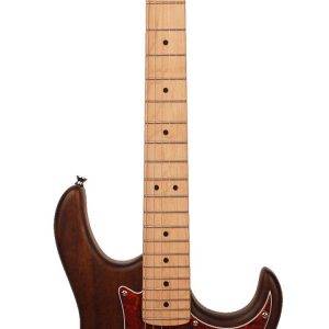 Guitarra Eléctrica Cort G100 Poro Abierto Color Nogal con Funda