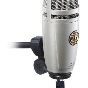 Micrófono de Condensador de Diafragma Grande USB Marca JTS