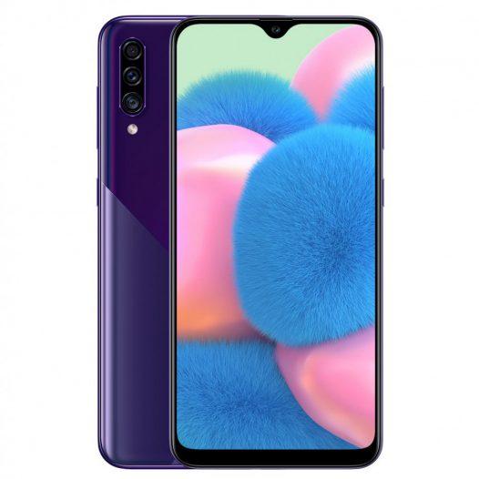"Celular Samsung Galaxy A30S 4GB RAM 64GB 6.4"" Color Púrpura DualSIM"