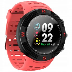 Reloj Inteligente DT NO.1 Deportivo F18 color Rojo