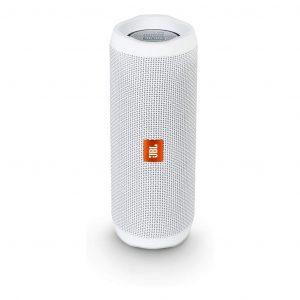 Bocina Bluetooth JBL Flip 4 Resistente al Agua Color Blanco