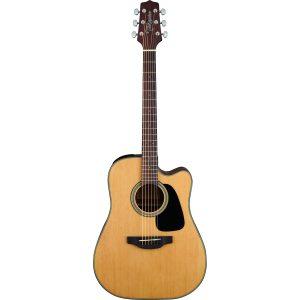 Guitarra Electroacústica GD10CE NS Marca Takamine de Cuerpo Dreadnought Color Natural